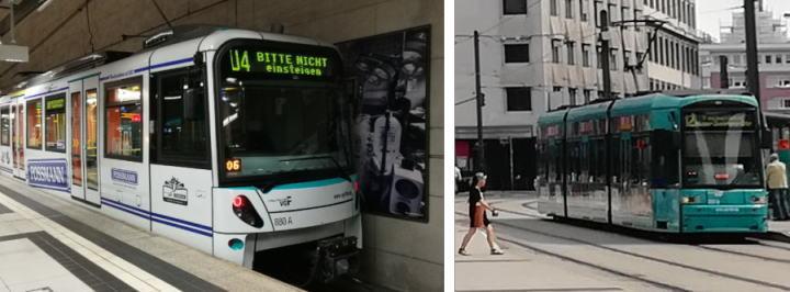 フランクフルトカード利用 鉄道・トラム・バス