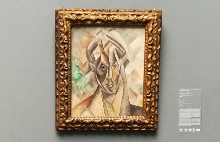 ピカソ フェルナンオリヴィエの肖像