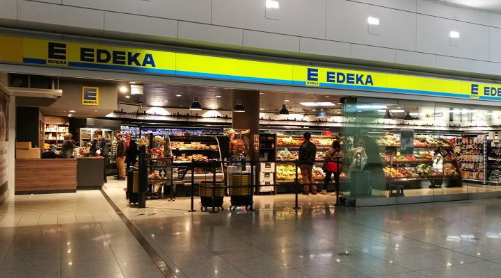 ミュンヘン空港 EDEKA スーパー
