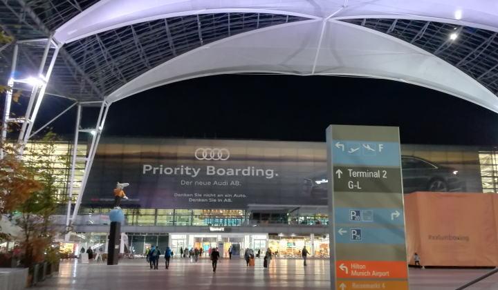 ミュンヘン空港 ターミナル2 MAC