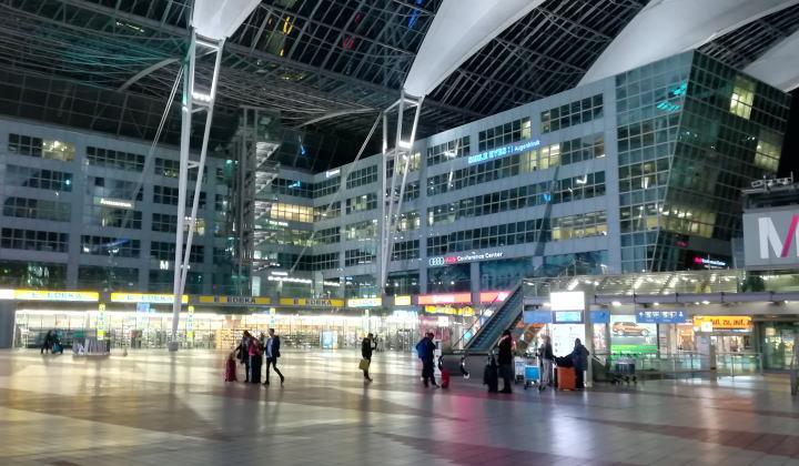ミュンヘン空港 MAC