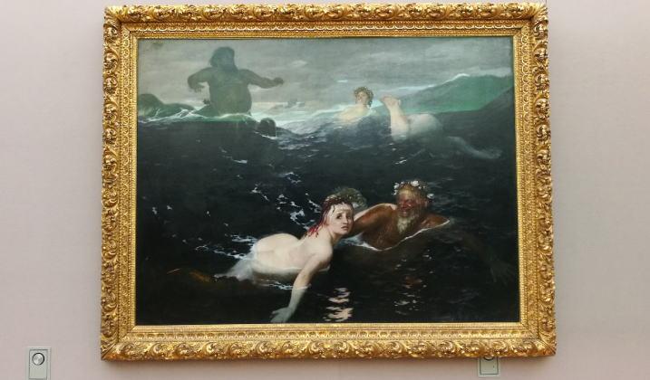 波の戯れ アルノルト・ベックリン