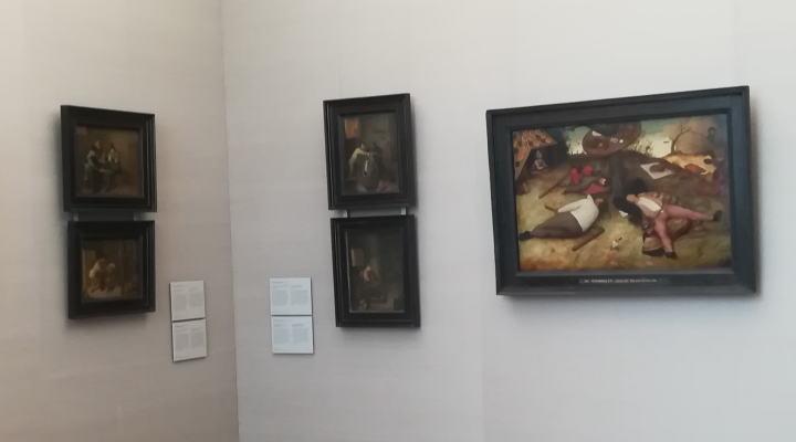 怠け者の天国 ピーテル・ブリューゲル 1世