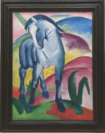 青い馬 フランツ・マルク