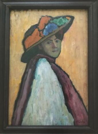 マリアンネ・フォン・ヴェレフキンの肖像 ガブリエレ・ミュンター