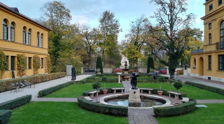 レンバッハハウス美術館 庭