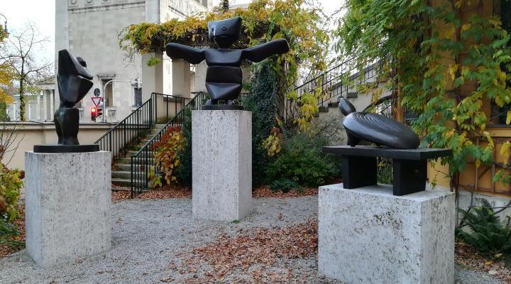 レンバッハハウス美術館 彫刻
