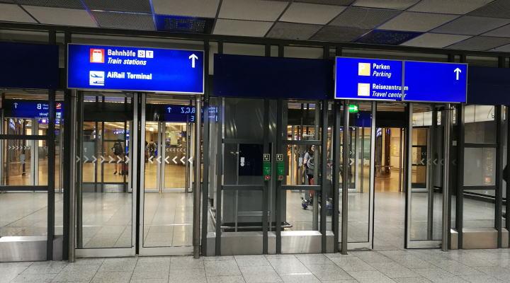 フランクフルト空港駅 Sバーン