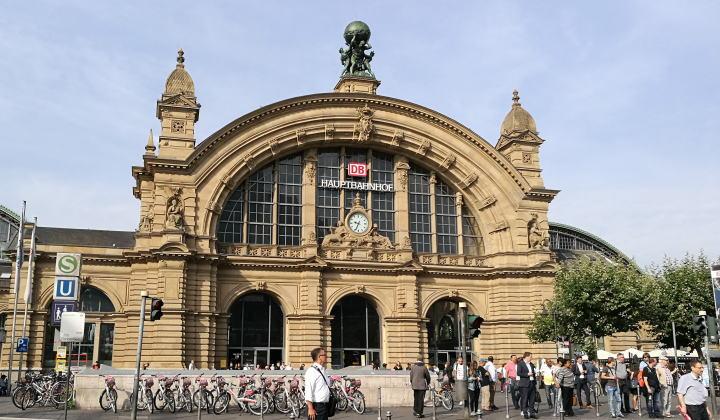 フランクフルト中央駅 駅舎