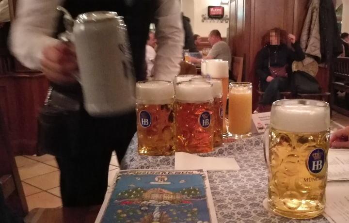 ホフブロイハウス ビール