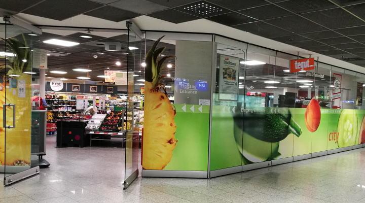 フランクフルト空港「tegut」