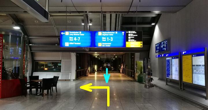 フランクフルト空港からザ・スクエア