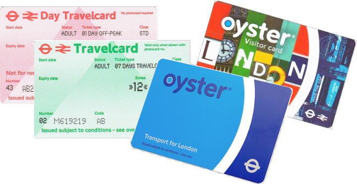 ロンドン オイスターカード トラベルカード