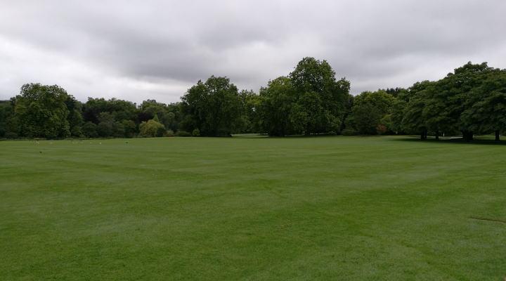 バッキンガム宮殿 庭園
