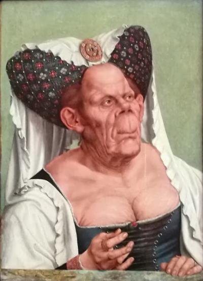 クエンティン・マサイス「醜女の肖像」