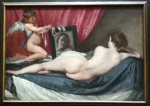 ディエゴ・ベラスケス「鏡を見るヴィーナス」