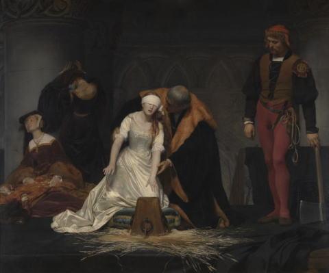 ポール・ドラローシュ「レディ・ジェーン・グレイの処刑」