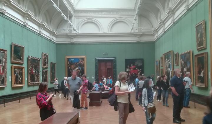 ロンドン ナショナル・ギャラリー 館内