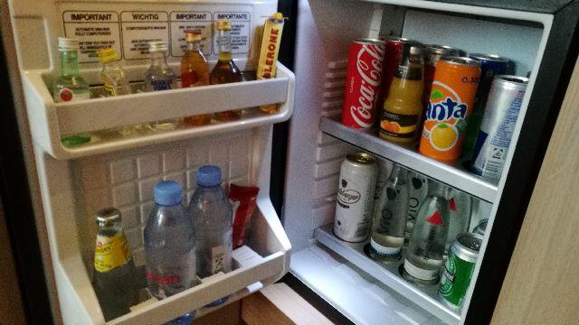 ヒルトンフランクフルトエアポート 冷蔵庫