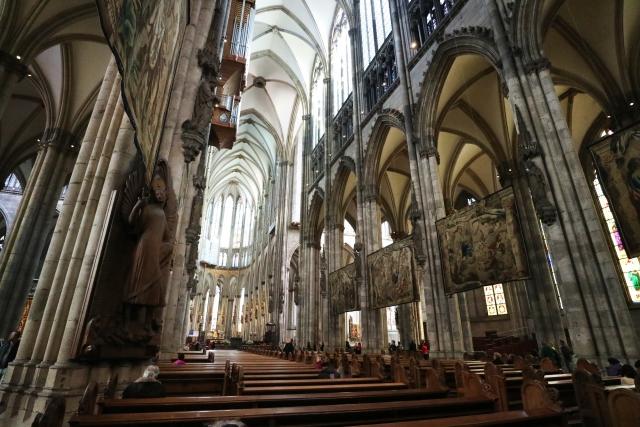 ケルン大聖堂 内部