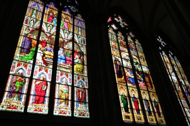 ケルン大聖堂 ステンドグラス(バイエルン窓)