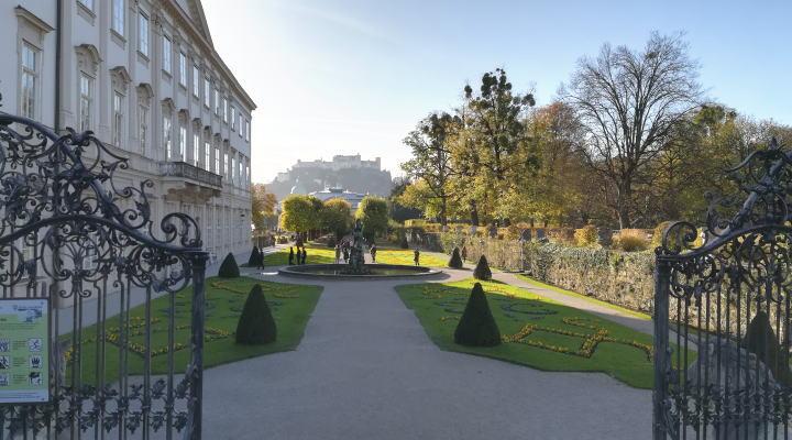 ミラベル宮殿・庭園 ドレミの歌