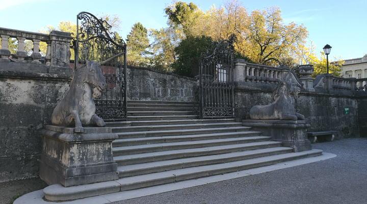 ミラベル宮殿・庭園 一角獣 ドレミの歌