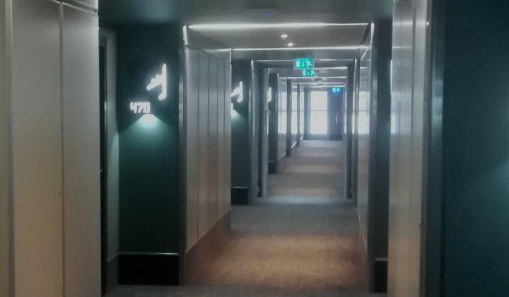 ヒルトン・ロンドン・ヒースローエアポート 廊下