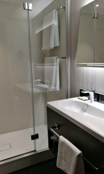 ヒルトン・ロンドン・ヒースローエアポート バスルーム