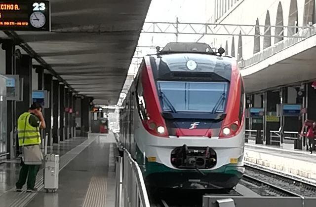 レオナルド・エクスプレス テルミニ駅
