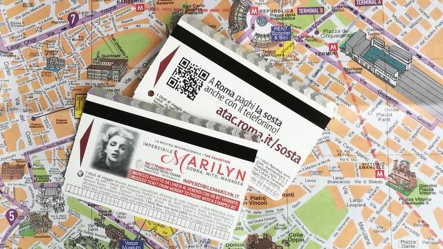 ローマ 公共交通機関チケット