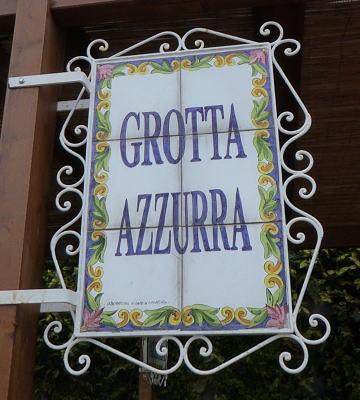 Grotta Azzura(青の洞窟)