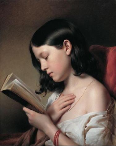 フランツ・エイブル 読書の女の子