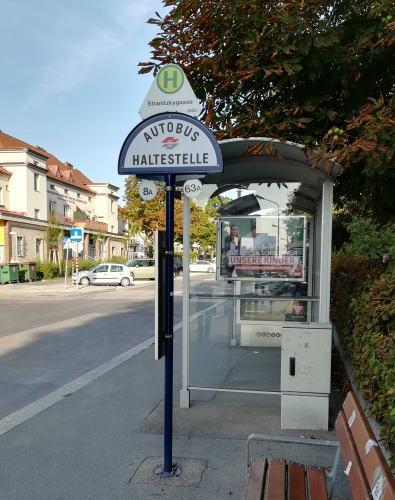 Stranitzkygasse停留所