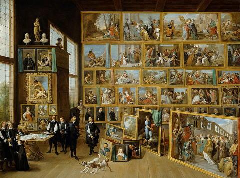 ダフィット・テニールス レオポルト・ウィルヘルム大公の画廊