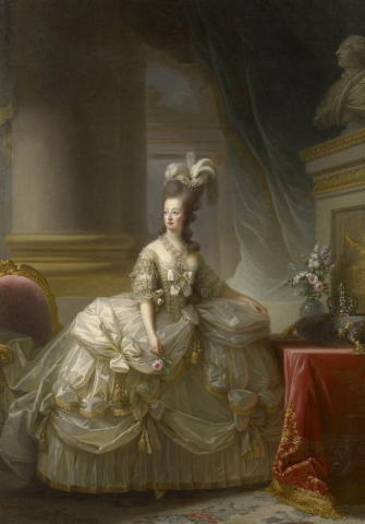 エリザベート=ルイーズ・ヴィジェ=ルブラン  フランス王妃 マリー・アントワネットの肖像