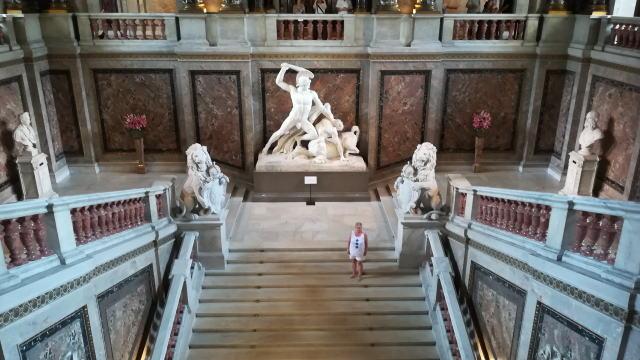 ウィーン自然史博物館 大階段