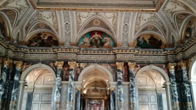 ウィーン美術史美術館 壁画