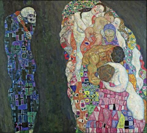 グスタフ・クリムト「死と生」