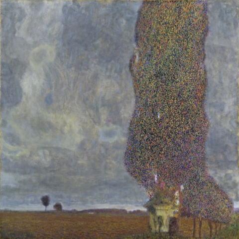 グスタフ・クリムト「大きなポプラⅡ」