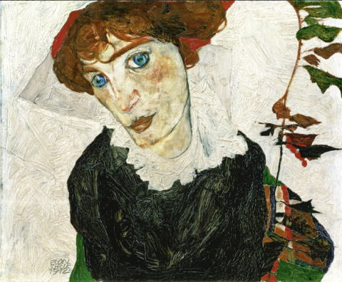 エゴン・シーレ「ヴァリ・ノイツェルの肖像」