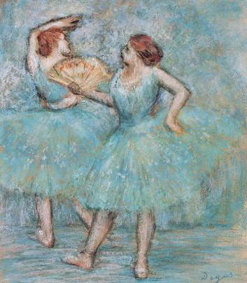 エドガー・ドガ「2人のダンサー」