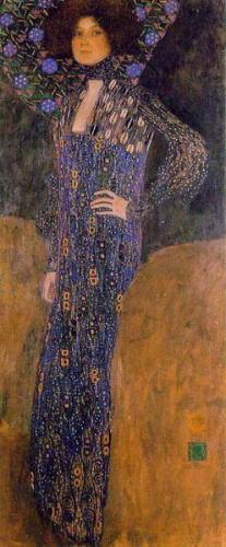 グスタフ・クリムト「エミーリエ・フレーゲの肖像」