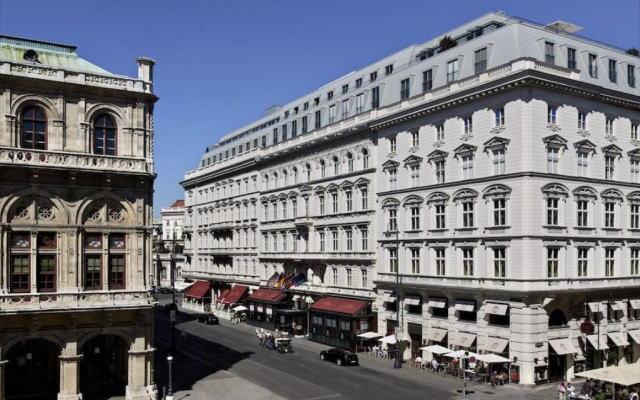 ホテル ザッハー ウィーン 外観