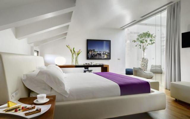 パラッツォ モンテマルティーニ ローマ ア ラディソン コレクション ホテル 客室