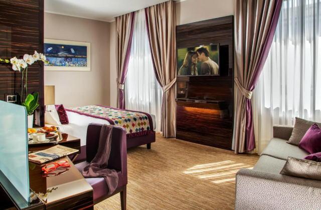 ジョベルティ アート ホテル 客室